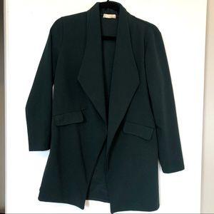 Nasty Gal Forest Green Blazer - Size M
